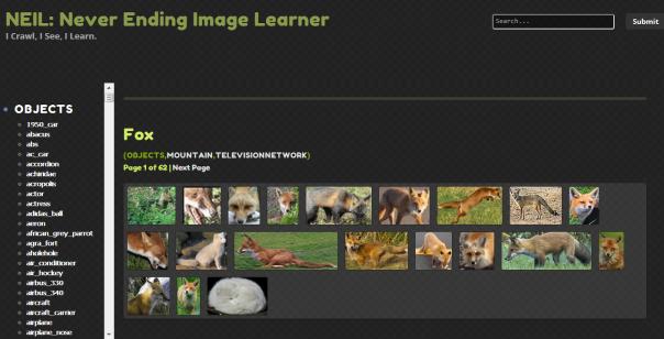 NEIL never ending image learner